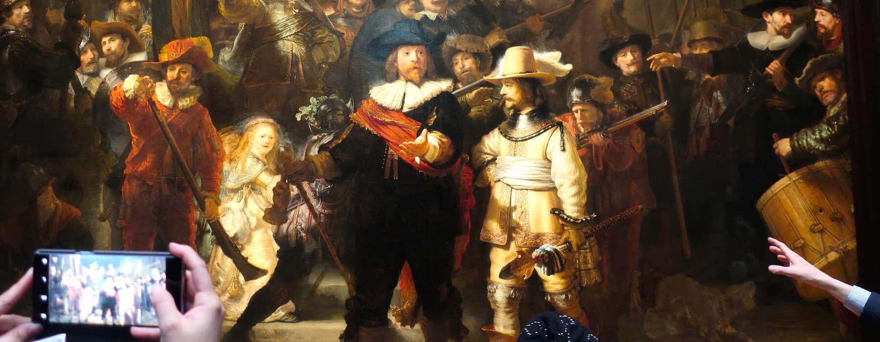 Rembrandt Paintings Nightwatch