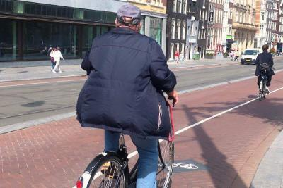 Private Amsterdam bicycle tour
