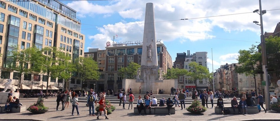 Amsterdam Dam Square The Netherlands