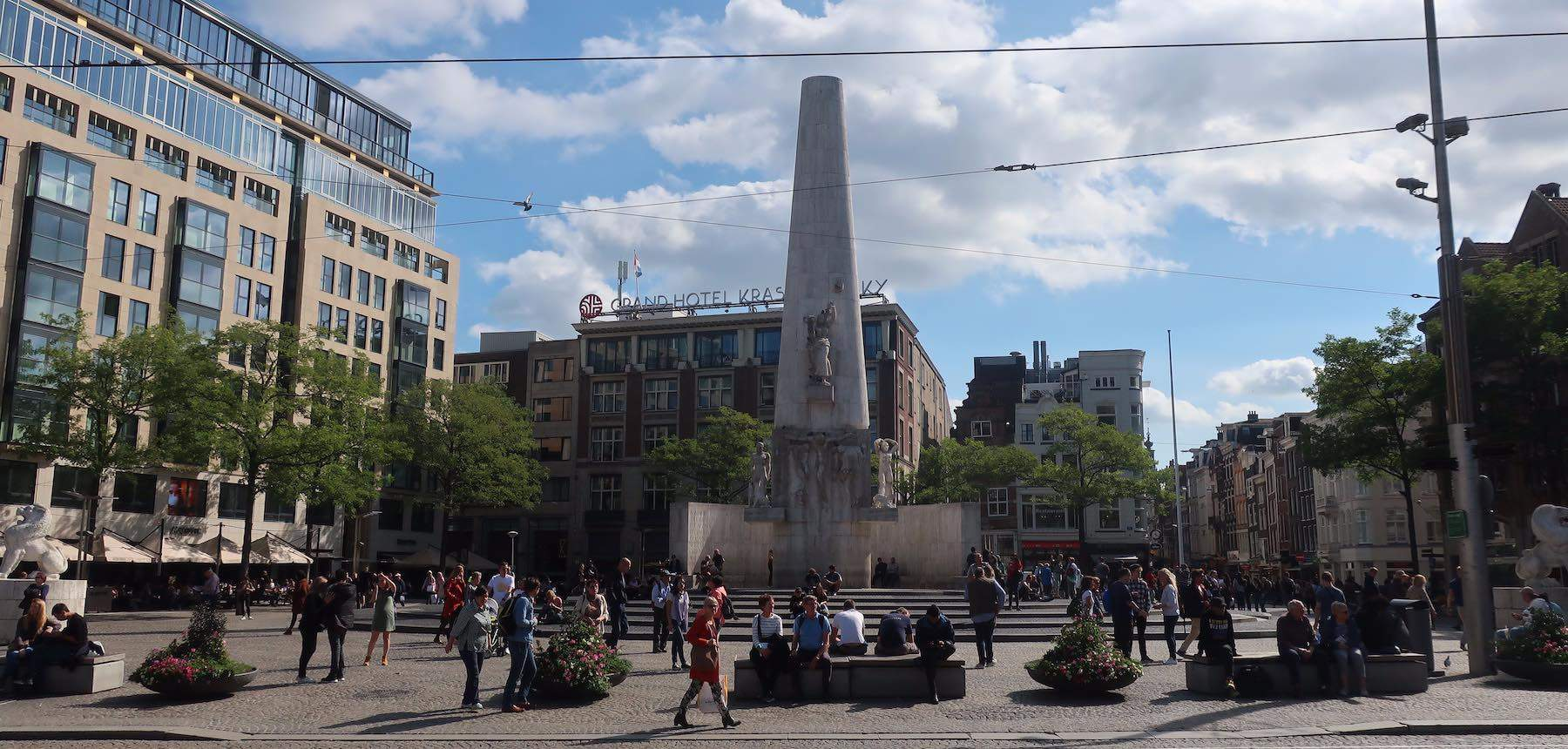 Amsterdam in World War II Dam Square Memorial